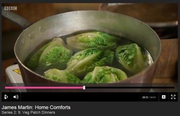 Parboiling lettuces